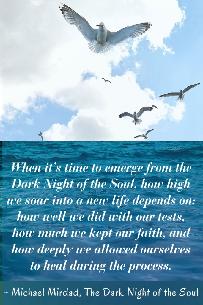The Dark Night of the Soul by Michael Mirdad