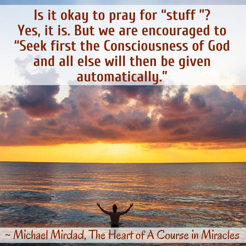 The Heart of a Course in Miracles by Michael Mirdad