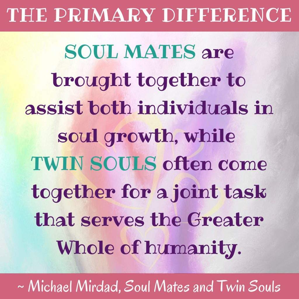Soul Mate Twin Soul Difference Between