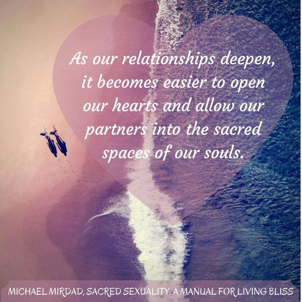 Sacred Sexuality, A Manual for Living Bliss by Michael Mirdad